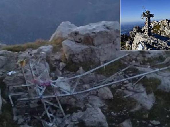 Photo of Grignetta: abbattuta la croce in cima, decapitata anche la madonnina