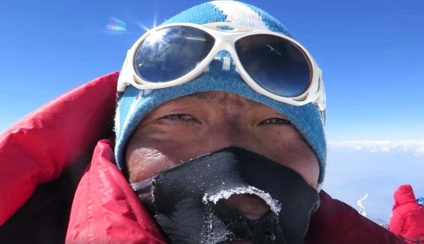 Photo of Il mondo dalla cima del Nanga Parbat: il video di Migma G. Sherpa