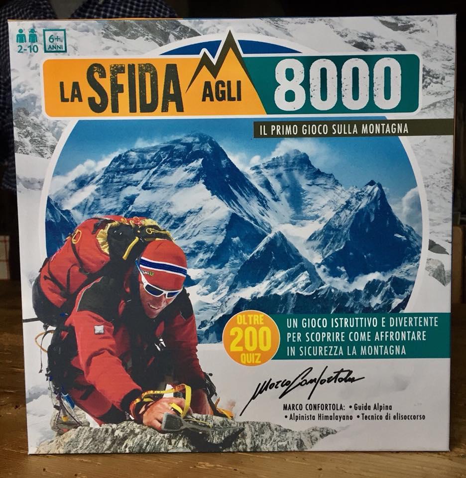 """Photo of """"La Sfida agli 8000"""": Confortola presenta il primo gioco da tavolo sulla montagna"""