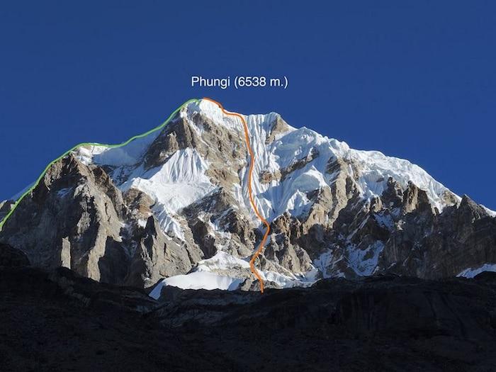 Photo of Nepal: prima assoluta al Phungi Peak per i due Piolet d'Or russi