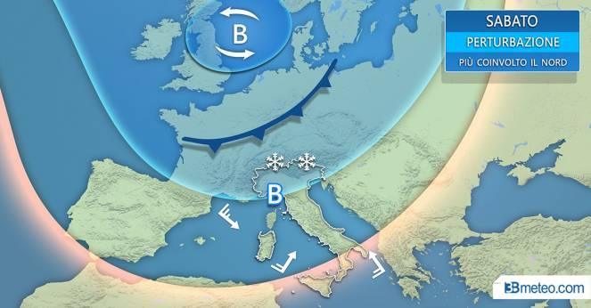 Photo of Arriva l'inverno: al nord limite delle nevicate a 400 metri