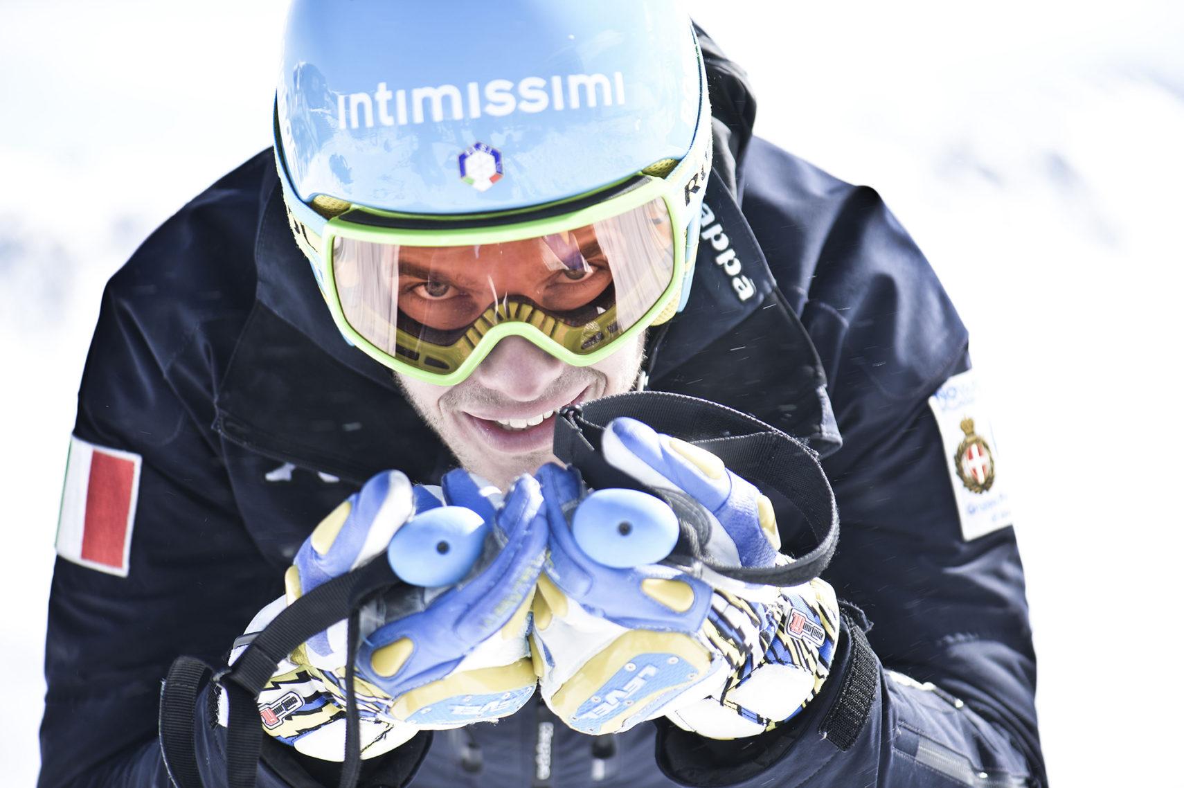 """Photo of Christof Innerhofer: """"Amo la velocità. Non so vedere il limite"""""""