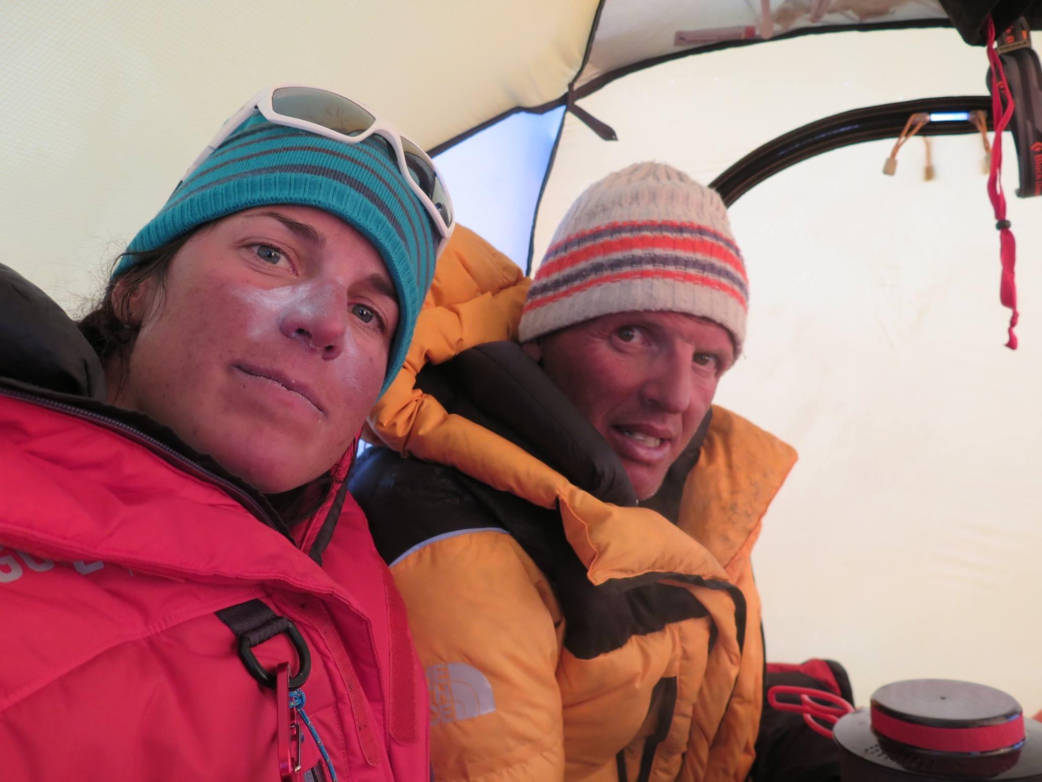 Photo of Simone Moro e Tamara Lunger ancora insieme per l'invernale più fredda che ci sia