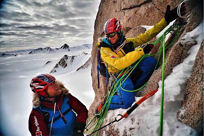 Photo of Spedizioni in Antartide: Houlding, Burgun e Sedon in cima a Spectre