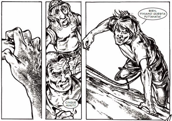 Photo of Fuga da Buoux: la storia a fumetti del climber Luc Bodan