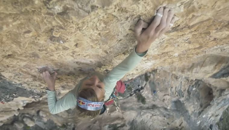 "Photo of Il video di Angela Eiter su ""La Plante de Shiva"", primo 9b femminile"