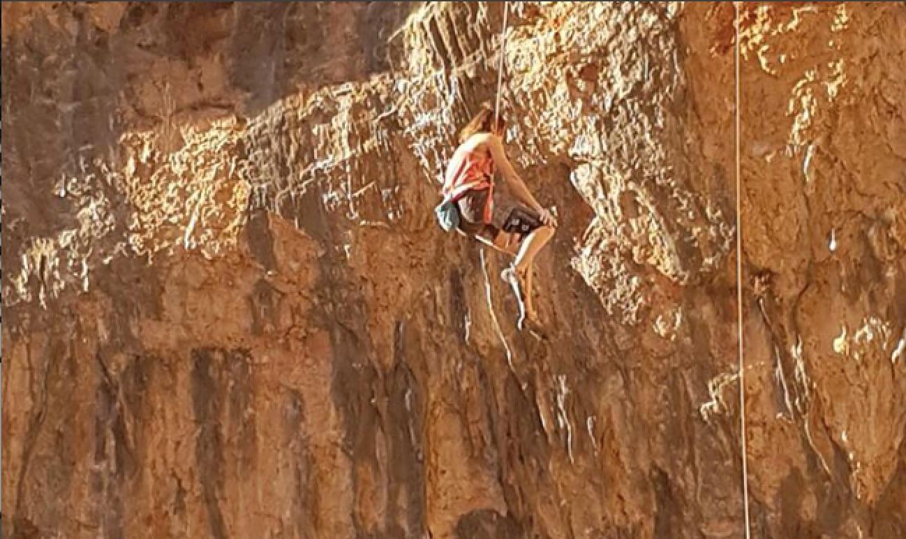 Photo of Nuova grandissima performace per la giovane climber Anak Verhoeven