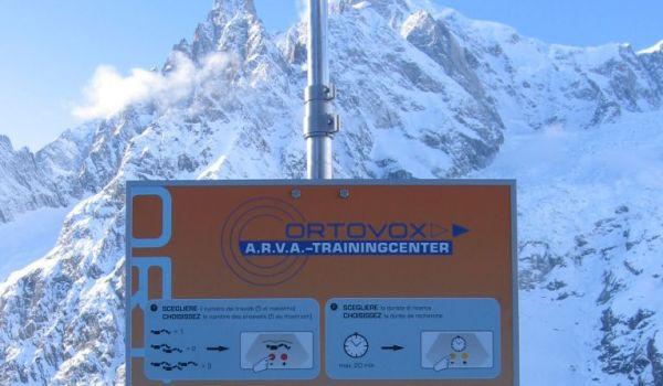 Photo of Sicurezza nei fuori pista: aperto il nuovo campo ARTVA sul Monte Bianco