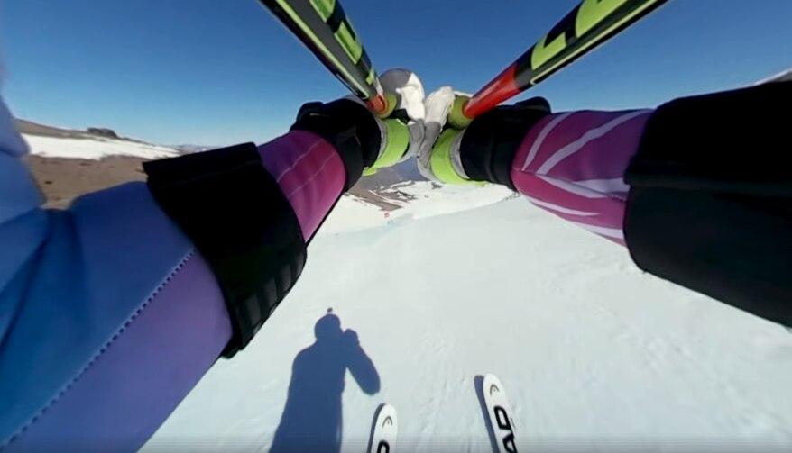 Photo of In discesa con Lindsey Vonn – Guarda il video ripreso dal casco
