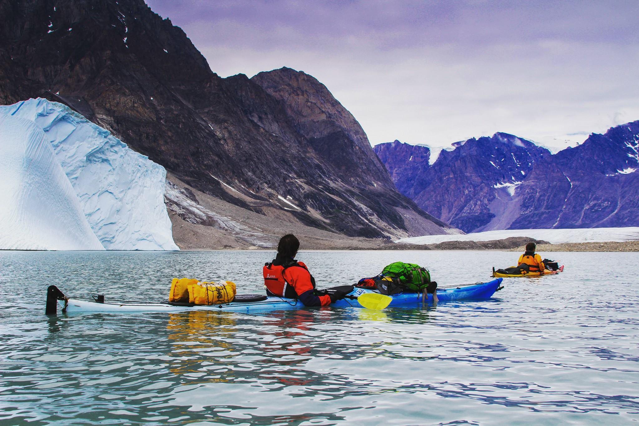 Photo of Con il kayak parte l'avventura di Matteo Della Bordella eSilvan Schüpbach al Cerro Riso Patron