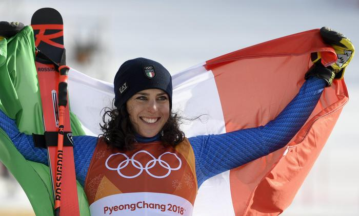 Photo of Olimpiadi invernali, è bronzo per Federica Brignone