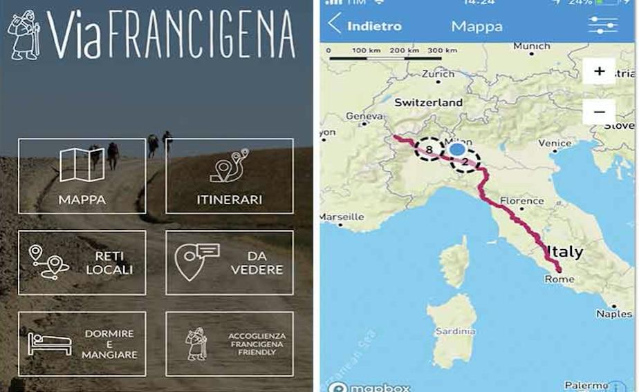 Photo of Cammini, online la nuova App della via Francigena