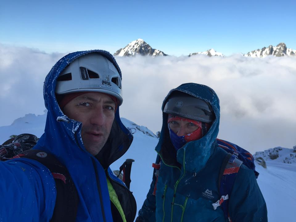Photo of Horia Colibasanu e Peter Hamor pronti per la traversata in stile alpino di Everest-Lhotse