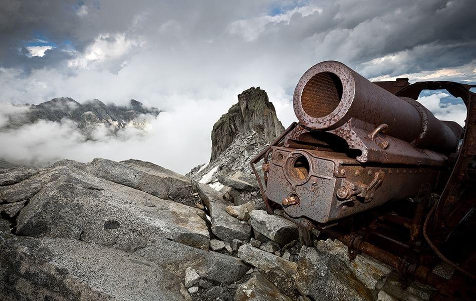 Photo of Le foto di Stefano Torrione della Grande Guerra tra il ghiaccio e la neve delle Alpi in mostra al Forte di Bard