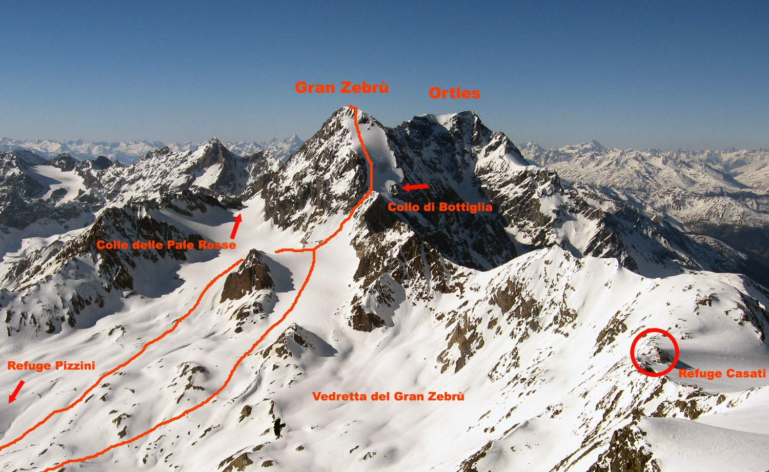 Photo of Valanga sul Gran Zebrù: due alpinisti morti e un ferito grave