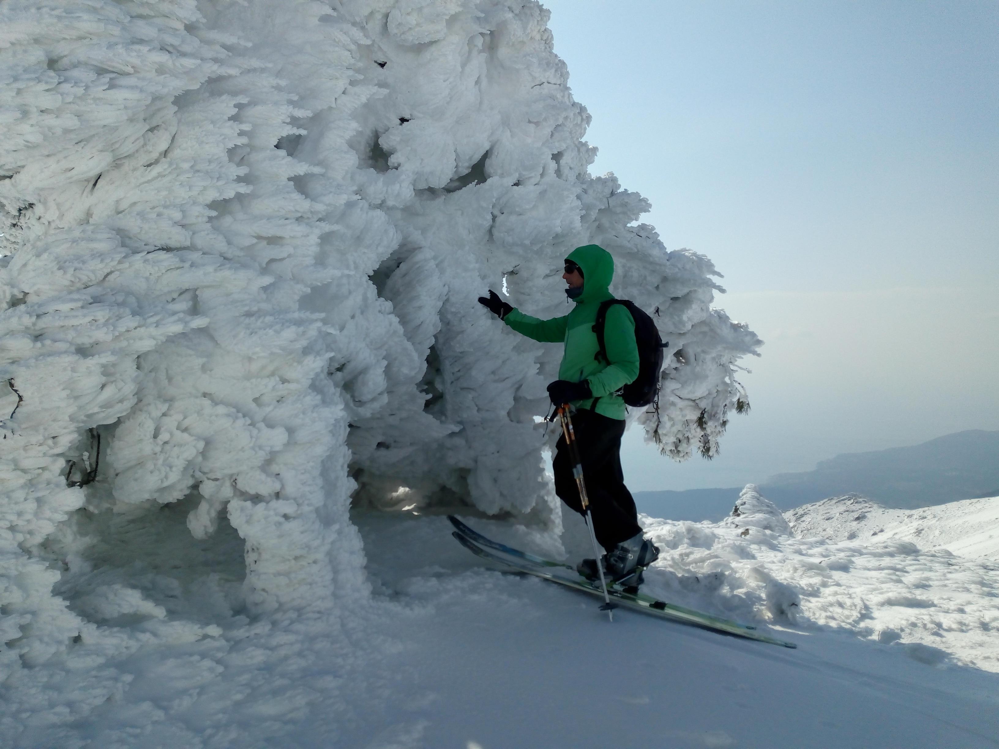 Photo of Lo spettacolo della galaverna tra mare e montagna sul Monte Beigua