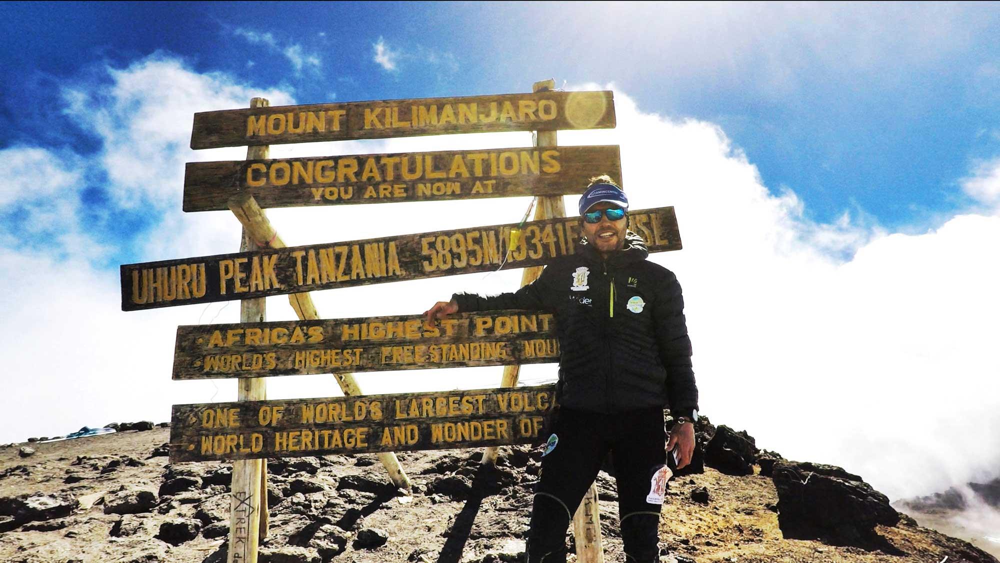 """Photo of """"From zero to Kilimangiaro"""", l'avventura di Nico Valsesia questa sera su Sky"""