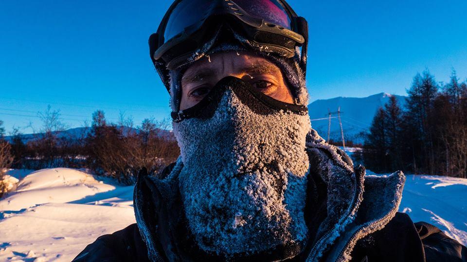Photo of Dino Lanzaretti: in bici attraverso la Siberia invernale