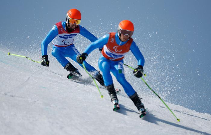 Photo of Paralimpiadi invernali, è oro nello slalom gigante per Giacomo Bertagnolli e Fabrizio Casal!