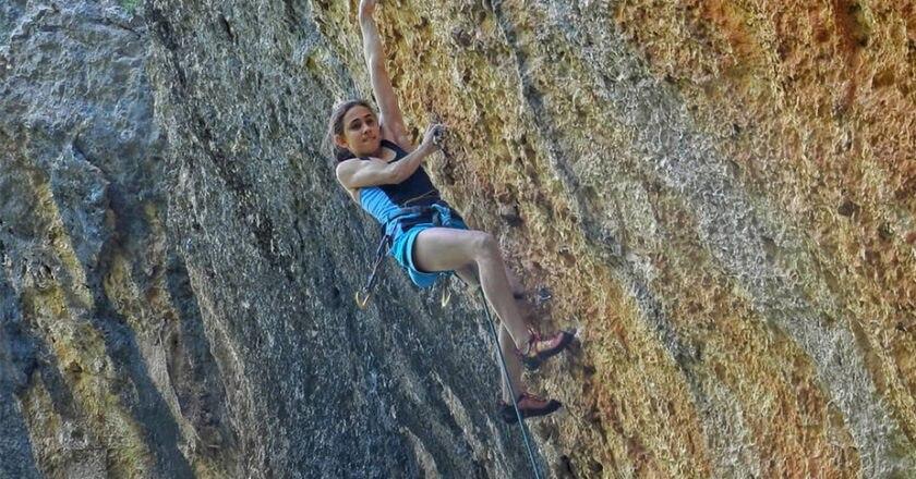 arrampicata, laura logora,