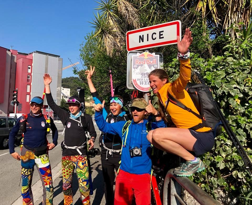 Photo of Traversata delle Alpi, sul traguardo di Nizza la Red Bull Der Lange Weg
