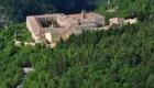 La Certosa di Trisulti dal Vado di Porca - Foto @ Stefano Ardito