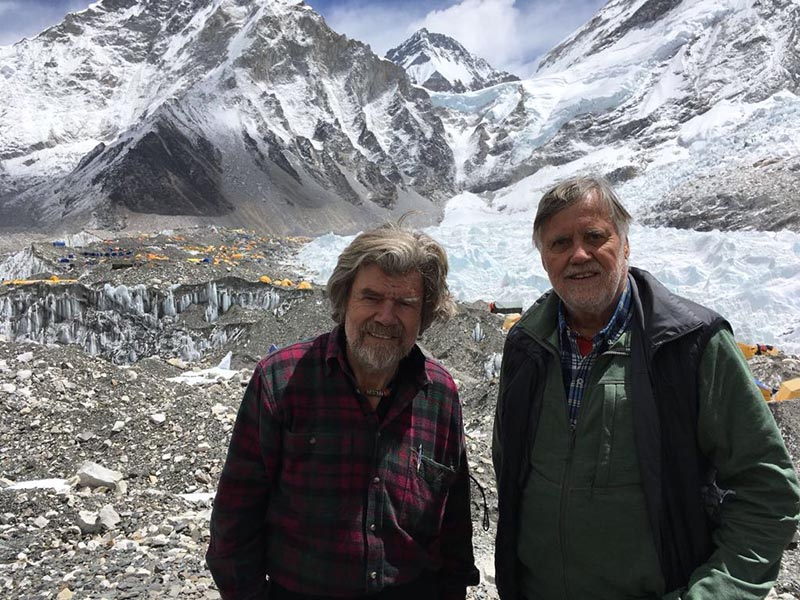 Messner, Habeler, Everest, alpinismo
