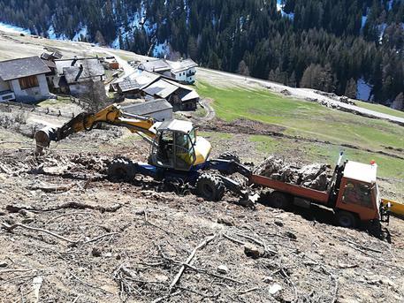 Photo of Interventi in Val Venosta, le valanghe di gennaio hanno lasciato segni evidenti