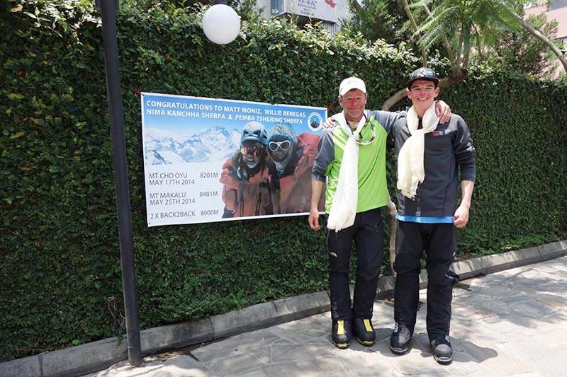 Photo of Moniz e Benegas riottengono il via libera per scalare l'Everest e il Lhotse dopo la sciata illegale