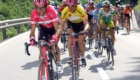 Guiseppe Guerini und Jan Ullrich auf der dritten Etappe der Tour de Suisse am 13.06.2005 von Abtwil nach St. Anton in Oesterreich