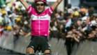 Guiseppe Guerini gewinnt die 19. Etappe der Tour de France am 22.07.2005 von Issoire nach Le Puy-en-Velay