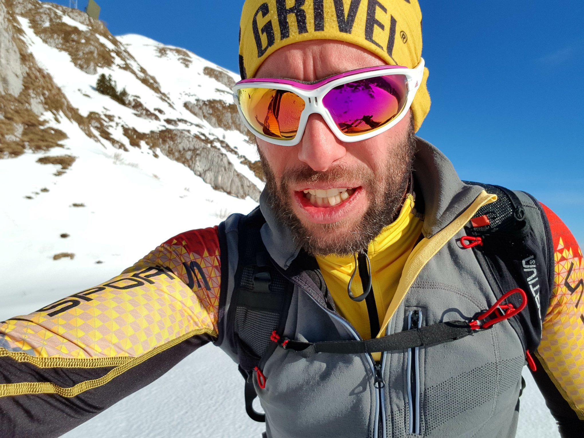 Photo of Danilo Callegari si prepara per la sua Antartide