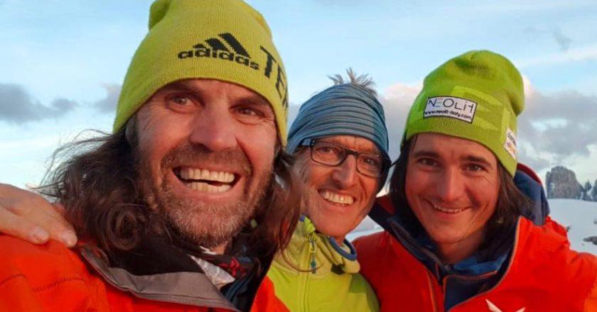 alpinismo, tre cime di lavaredo, gietl, huber