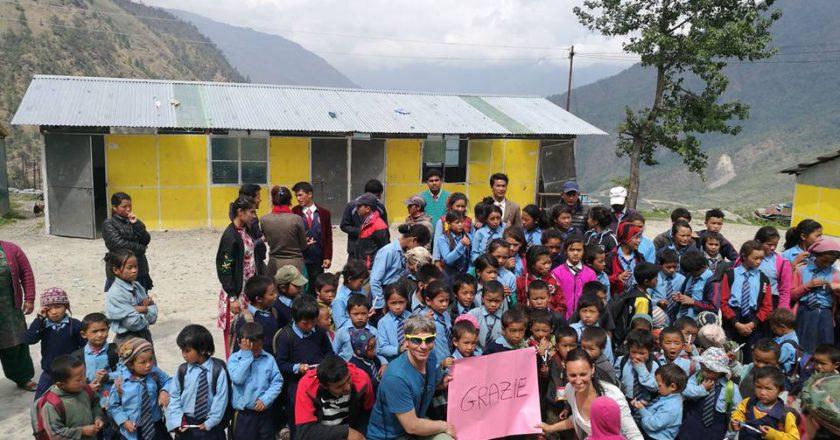 alpinismo, mario vielmo, nepal, solidarietà