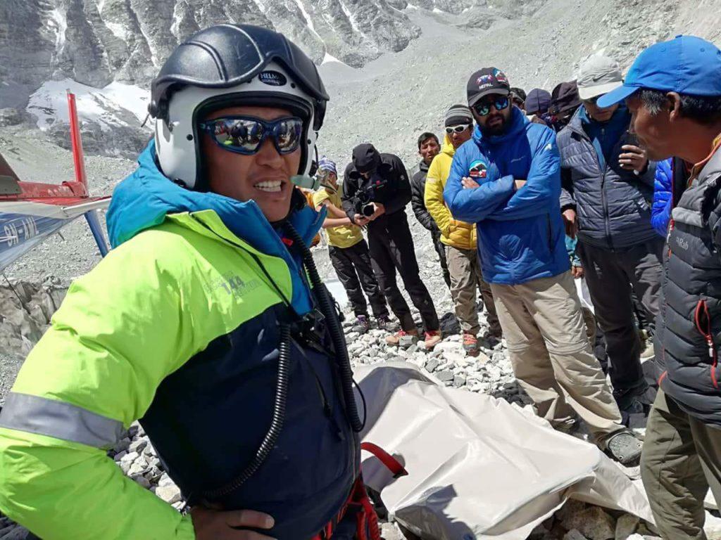 Damai Sarki Sherpa, Pasang Norbu Sherpa, Maurizio Folini, Everest, alpinismo, ottomila, cronaca
