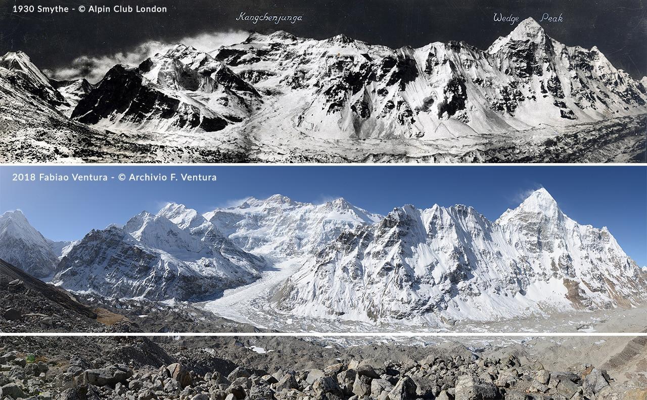 """Photo of La spedizione """"Sulle Tracce dei Ghiacciai"""" è arrivata al Kanchenjunga"""