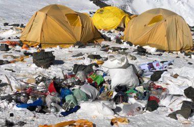 Everest, alpinismo, ottomila, ambiente, spazzatura, inquinamento