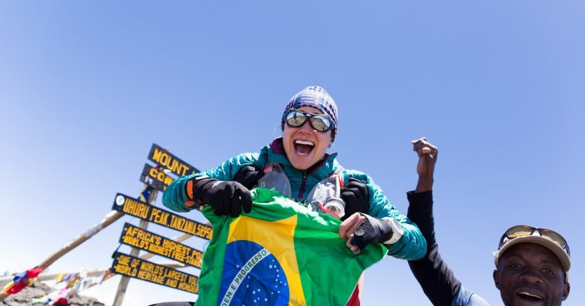 Fernanda Maciel, the north face, kilimangiaro,