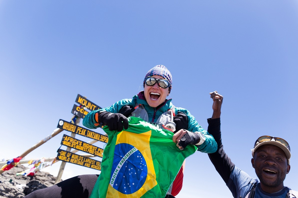 "Photo of ""Taking Flight on Kilimanjaro"" il video sull'impresa di Fernanda Maciel"