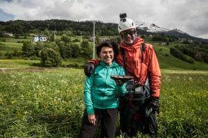 Salewa Ironfly, trail running, parapendio,Maurer, Anders, Von Kanel