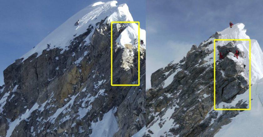 Everest, ottomila, alpinismo, Hillary Step, Edmund Hillary, Tenzing Norgay