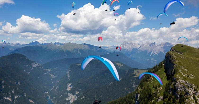 Salewa Ironfly, trail running, corsa in montagna, parapendio