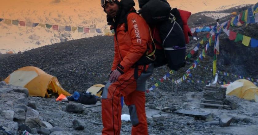Simone La Terra, Dhaulagiri, cronaca