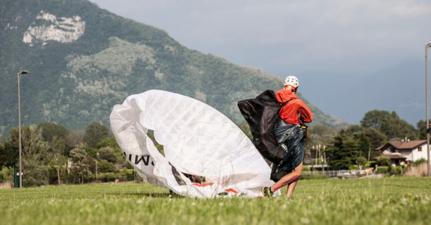 Salewa Ironfly, trail running, parapendio
