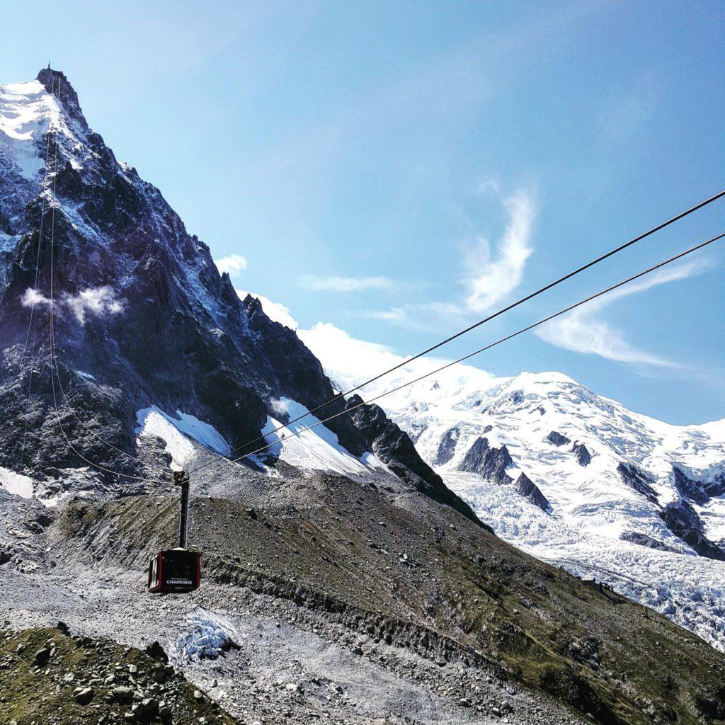aiguille du midi, turismo, monte bianco