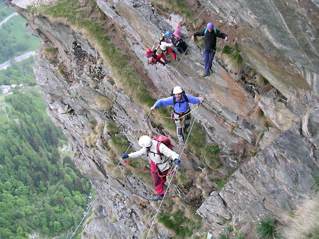 Photo of Outdoor Festival 2018 – Sulla ferrata del Gorbeillon con le Guide del Cervino