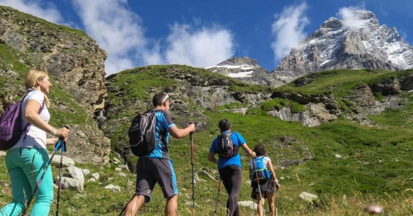 turismo, montagna. cervinia