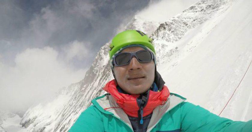 Tenji Sherpa, Everest, Lhotse
