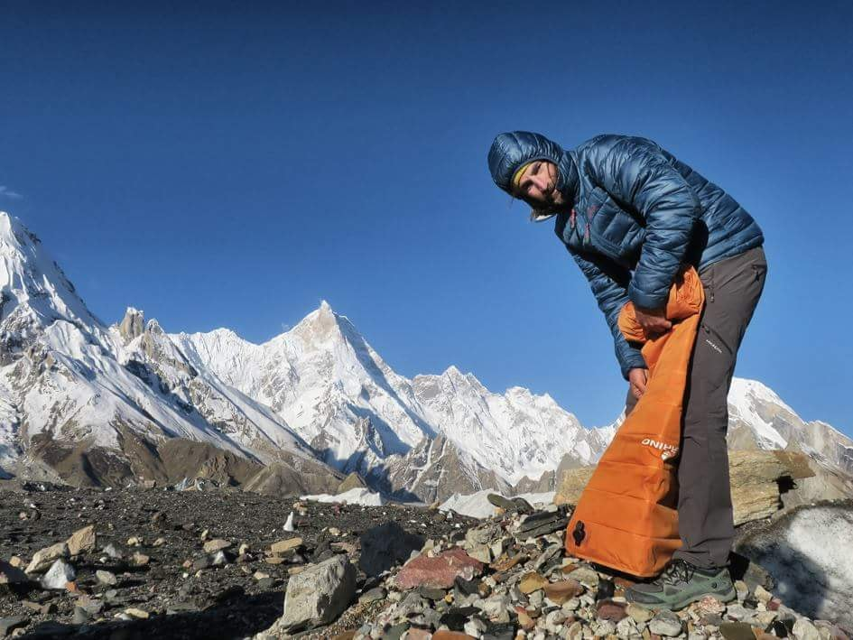 alpinismo, GII, Gasherbrum, Cala Cimenti, Matthias Koenig, Adam Bielicki