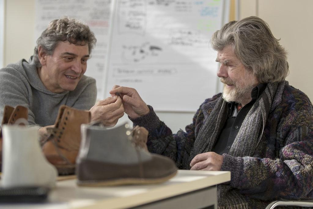 La Sportiva, Messner, Delladio, Scarpe